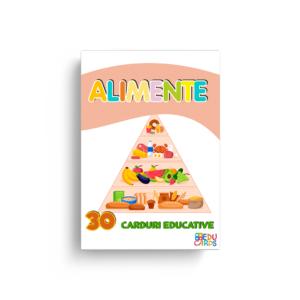 Carduri educative alimente
