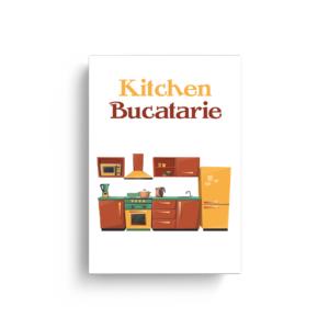 """Set de cartonașe """"Bucătărie"""""""