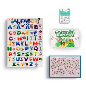 Set de jucarii cu Alfabet si cifre Educards