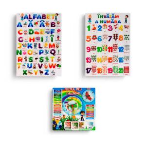 Combo set Alfabet Educards MD