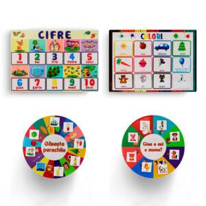 Set de jucarii cu culori si cifre