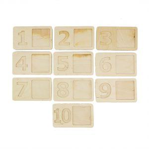 Cifre, numere, cifre sin lemn, invatam a numara